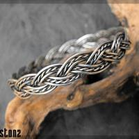 Silver Celtic arm decorative armband