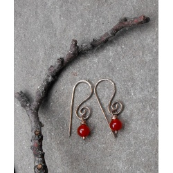 Bronze Berry earrings